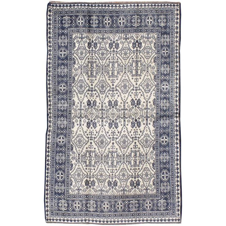 Vintage Indian Cotton Agra Rug | From a unique collection of antique and modern indian rugs at https://www.1stdibs.com/furniture/rugs-carpets/indian-rugs/