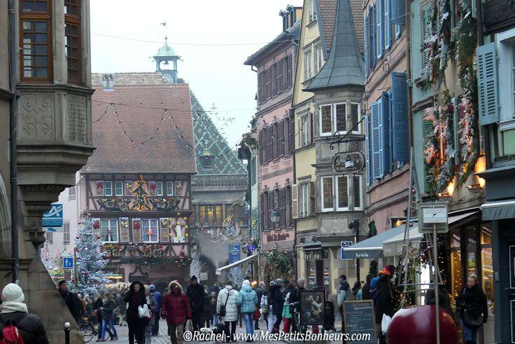 Marchés de Noël en Alsace : Mulhouse, Colmar, Riquewihr – Photos