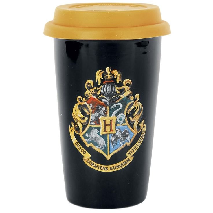 Harry Potter - Hogwarts  - coffee Cup made of ceramics - motif: Hogwarts - height: 13,4 cm /diameter on the inside approx. 7.5 cm, diameter outside approx. 9.2 cm  The small hole in the bottom of this ceramics mug is to prevent the ceramics from bursting due to heat. We recommend you wash wash it by hand.