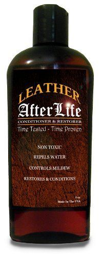 Leather Afterlife Leather Conditioner - The Best Leather Conditioner & Restorer for Cars, Furniture, Boots, Saddles, Purses & More by Leather Afterlife