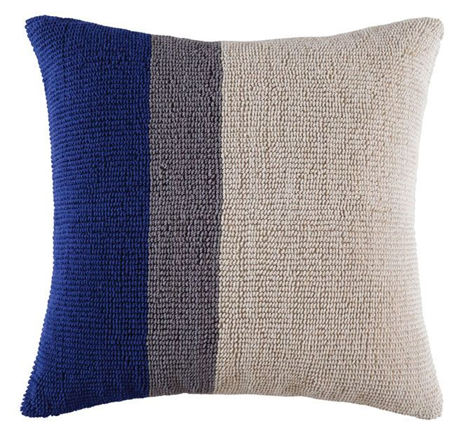 Kas Room Hunter 50x50cm Filled Cushion Navy