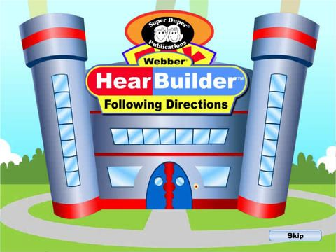 Hearbuilder Following Directions by Super Duper Publications ($0.00) gives students a systematic way to improve their auditory and following directions skills! At the same time, students will learn how to become Master Toy Makers while building their own Toy Central factories.