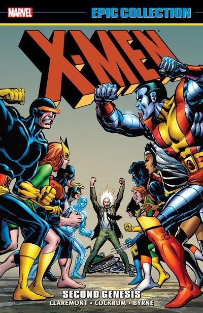 Pre-Commande !! X-Men Epic Collection – Second Genesis Vol. 1 (2017) // With the original X-Men captured, Professor X recruits an all-new, all-different team to take on the mantle of the Uncanny X-Men! Including Wolverine, Storm, Colossus, Nightcrawler, Banshee, Sunfire and Thunderbird, this new international cast redefined super-hero teams forever. #xmen #second #genesys #epic #colection #marvel