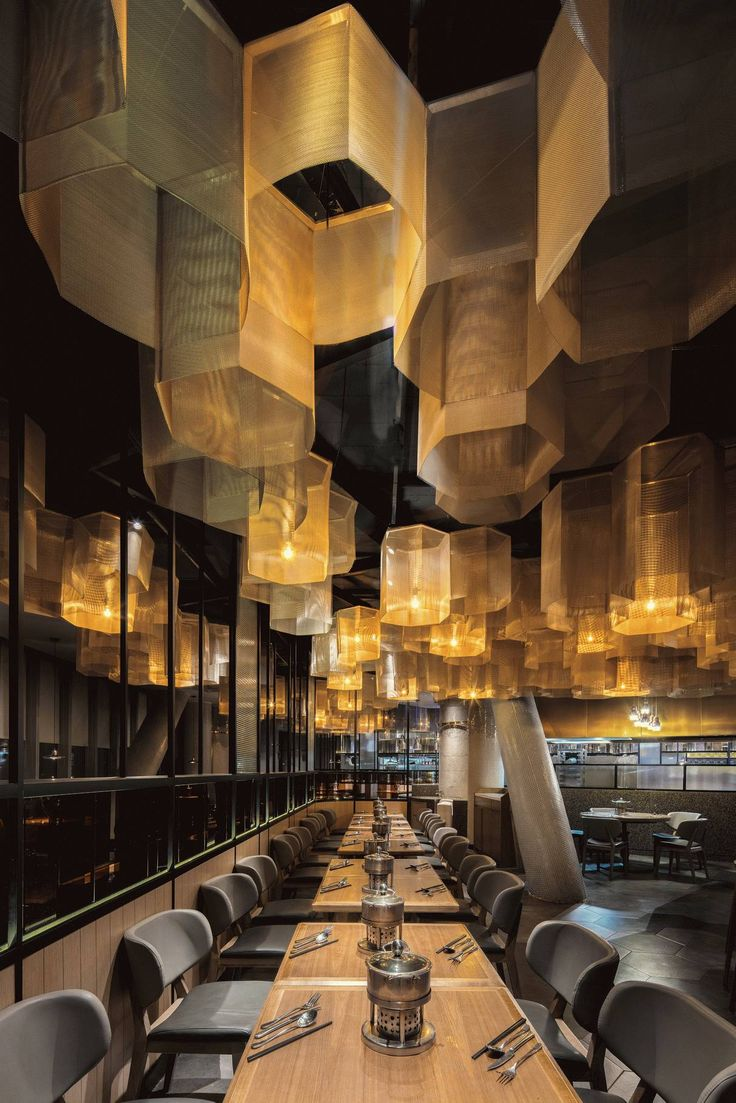 Hangzhou opened a new seafood buffet restaurant, slow living environment full of artistic style [Global Design 1467] - Global Design - WeChat public article
