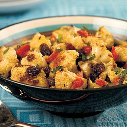 Middle Eastern Roasted Cauliflower   MyRecipes