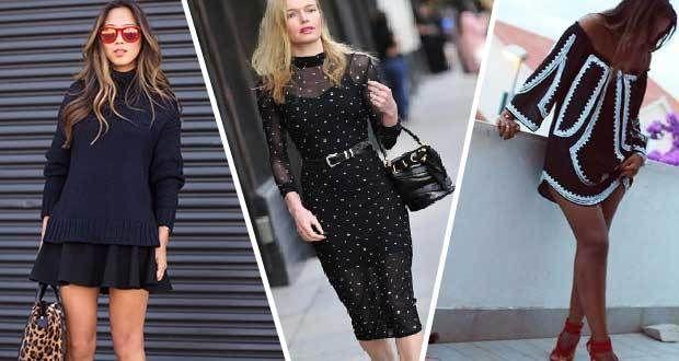 Yazlık Siyah Kombinler Sokak Modasının Vazgeçilmezi – ABC Kadın Sitesi  Siyah kombinler aslında her sezonun vazgeçilmez moda trendleri arasında. İster yazın ister kışın kombinleyerek giyebileceğiniz siyah kıyafetler çok hoşunuza gidecek.