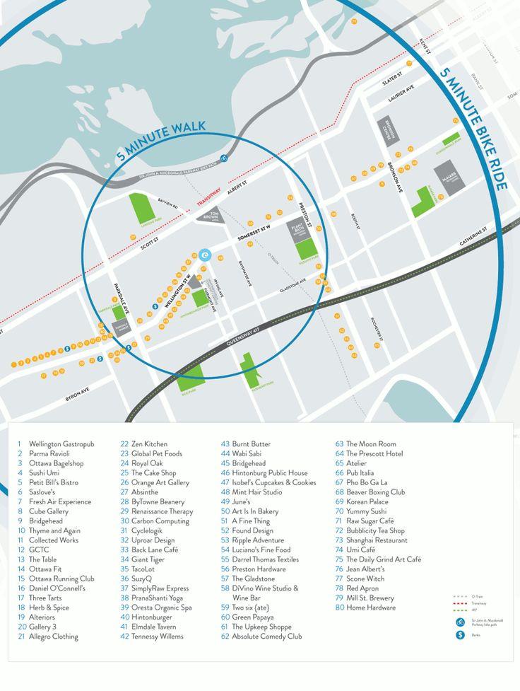 The Eddy Neighbourhood Map