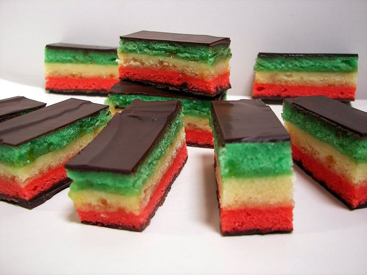 8 best images about Seven layer rainbow cookie on ...