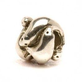 Trollbeads Silver Seals bead 11253