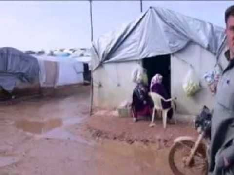 Syrian refugees find closed doors as conflict drags on
