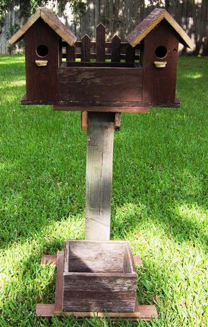 Planters Hand Made Rustic Birdhouses From Bird Houses And