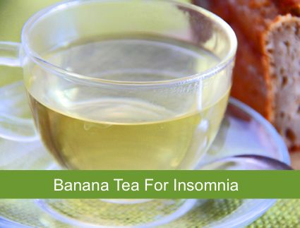 Natural Banana Tea: Medicine For Insomnia...http://homestead-and-survival.com/natural-banana-tea-medicine-for-insomnia/