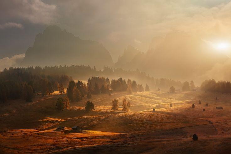 Fairy Dolomites II on Behance