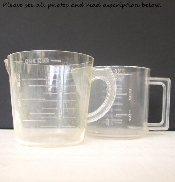Burrite no 332 plastic measuring cup burroughs mfg co 1 for 1 table spoon oz