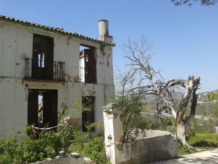 Casa Abandonada en Los Remedios. Foto Alfredo López