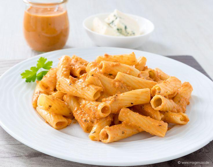 👌🏼🍝Sauce Parmarosa für 250 g Pasta🍝👌🏼 – MixGenuss Blog
