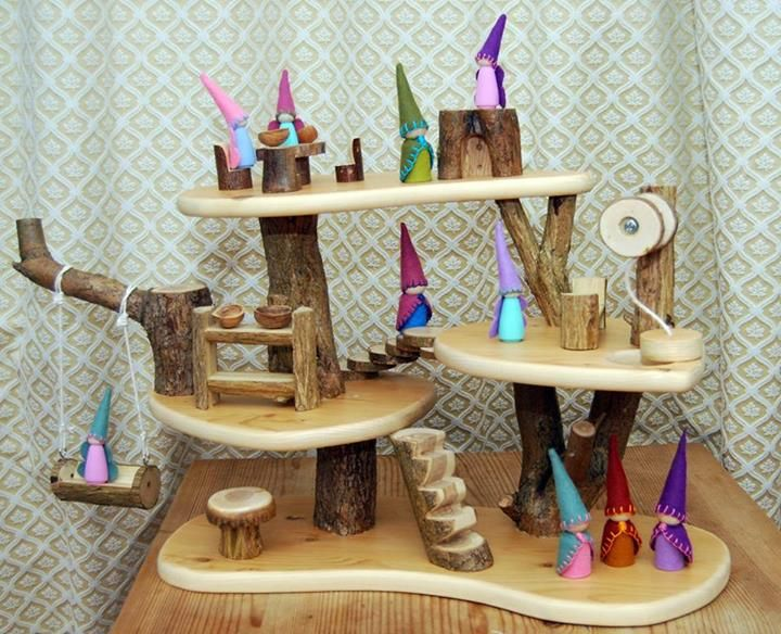 Gnome and Fairy Tree House