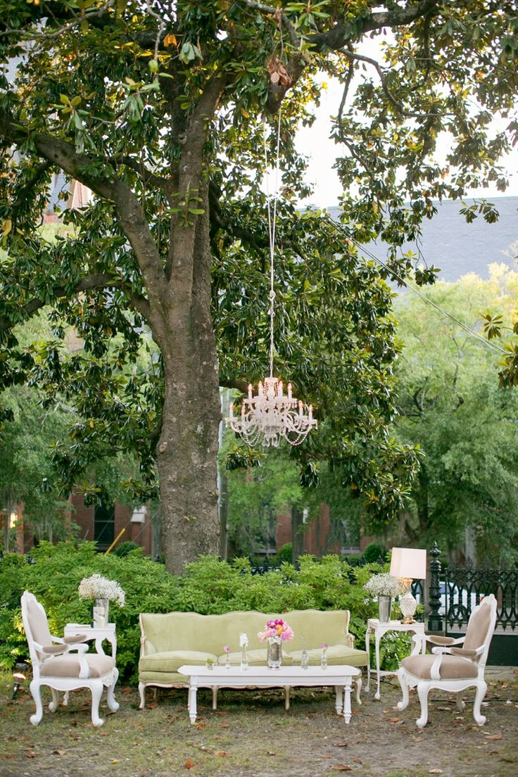 A Pink Vintage Chic North Carolina Wedding Design Inspirationbackyard Weddingsoutdoor