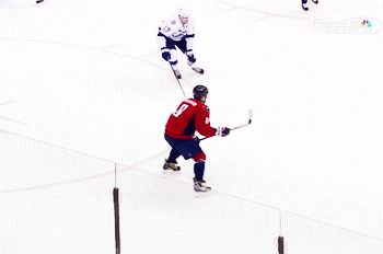 Alex Ovechkin's Four-Goal Game Inspires Epic Celebration (GIF).  My favorite Ovie celly ever.