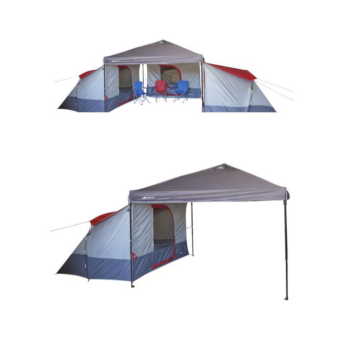 Family Camping Tent 4 Person Large Canopy Equipment Outdoor Cabin Hiking Gear #OzarkTrail #FrameTent