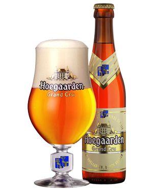 Hoegaarden Grand Cru, dark golden specialty Beer