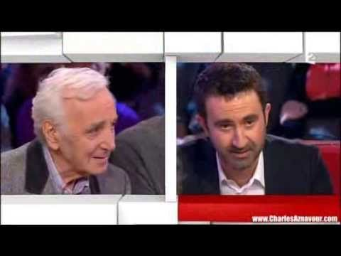 Charles Aznavour & Mathieu Madenian - Vivement Dimanche 11-2013 - YouTube