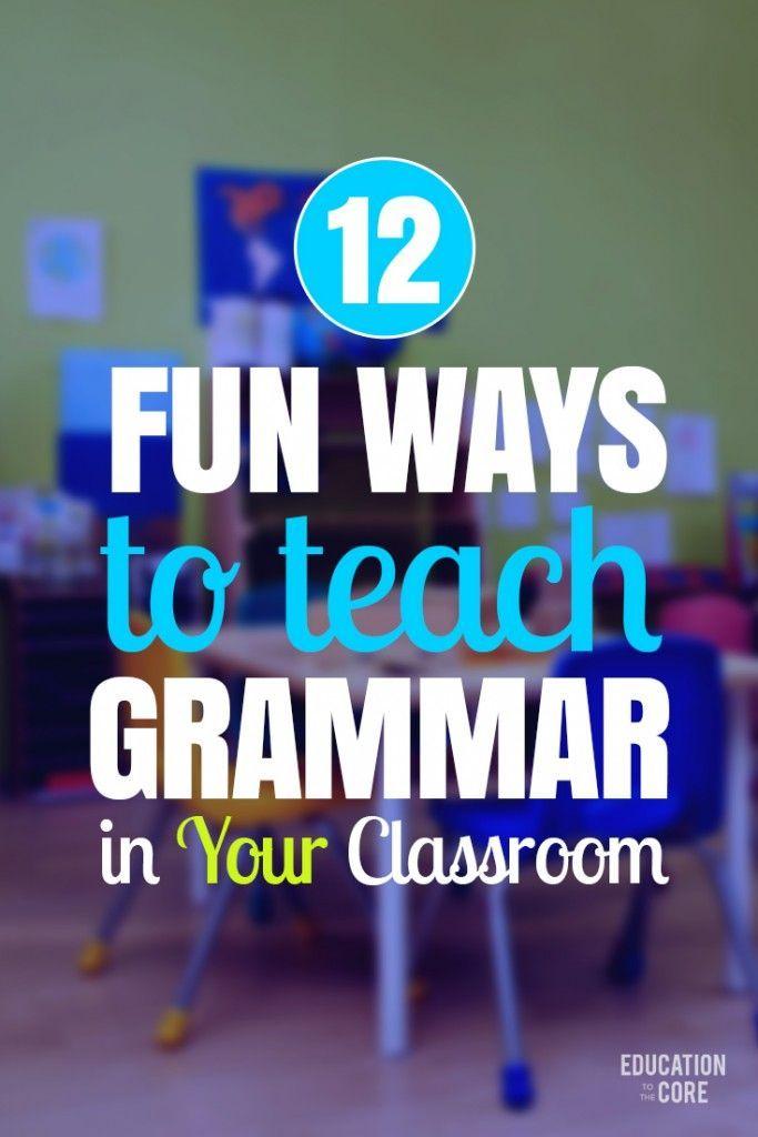 Classroom Improvement Ideas ~ Best grammar rules ideas on pinterest