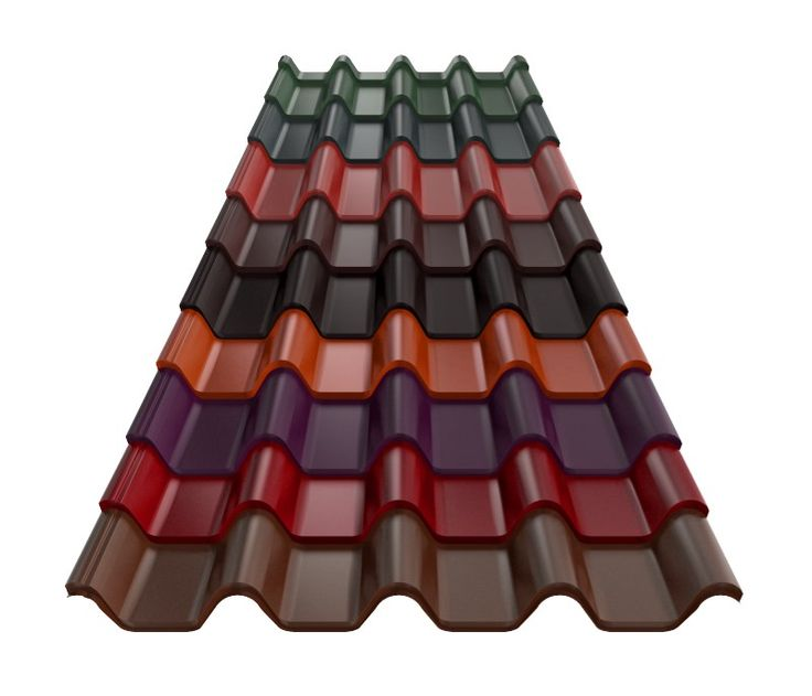 RUUKKI - Tigla metalica Armorium - culori