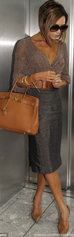 Victoria Beckham Street Style   Hermes Birkin Bag! shop at:https://www.bagsforbags.com/product-category/womens/designer-inspired-bags/