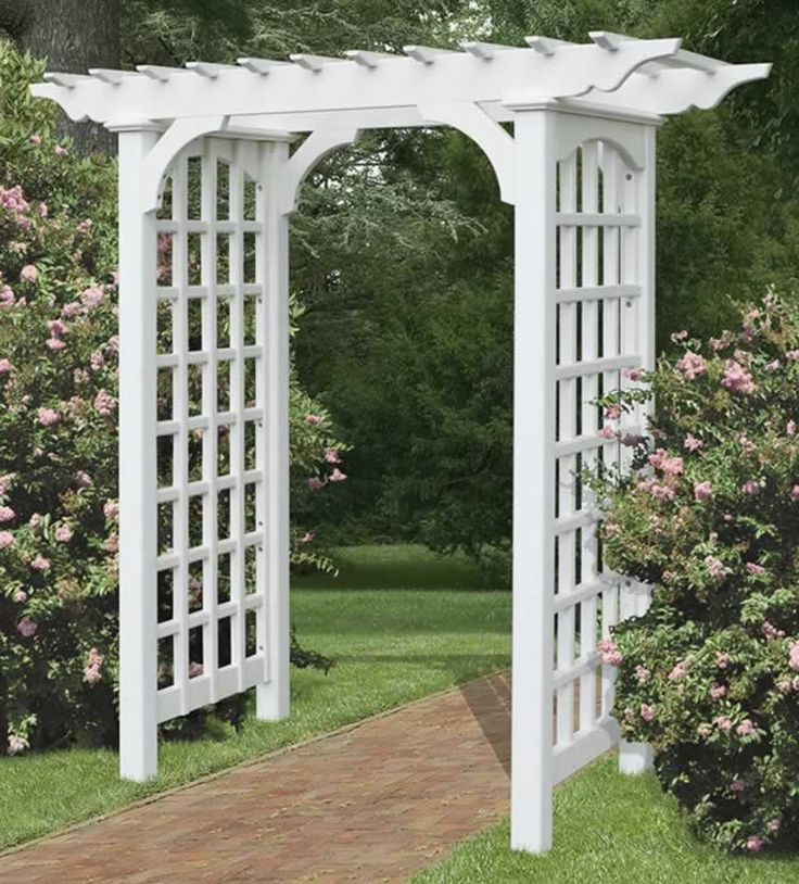 amish arbors and trellises - Garden Trellises