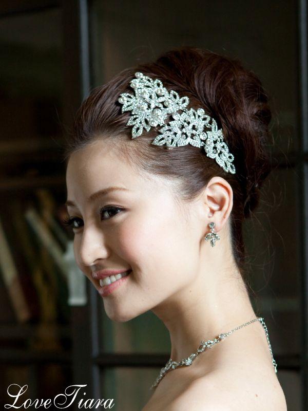 15,800円 ヘッドドレス ウェディング ブライダル 結婚式