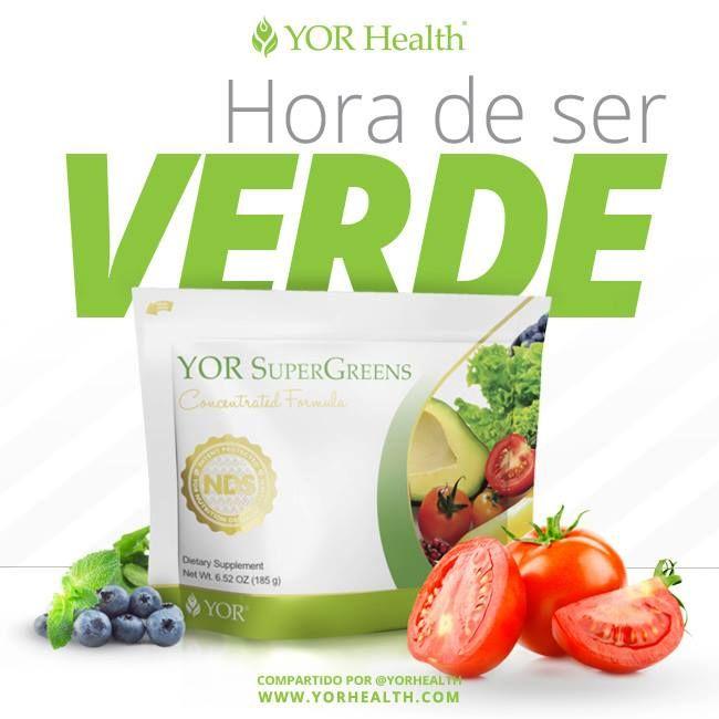 Ya probaste nuestro super Antioxidante Super Greens que esperas???