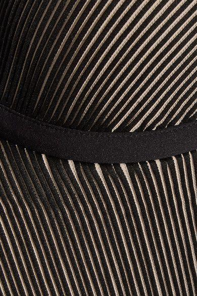 La Perla - Ribbed Underwired Swimsuit - Black - IT 40 B