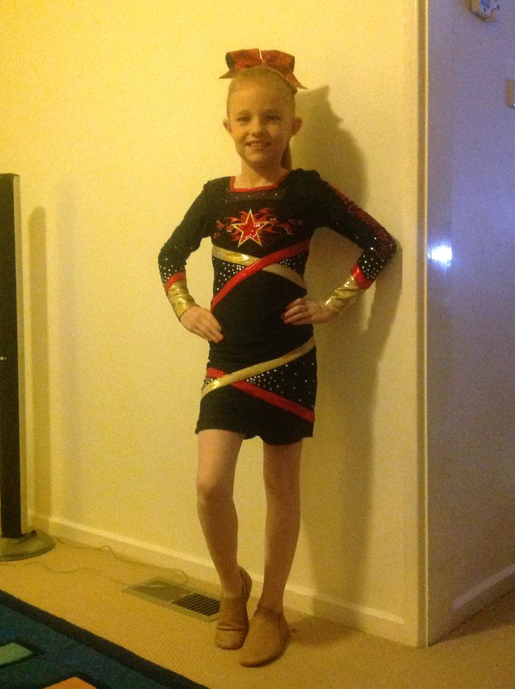 Jaime in her new uniform for 2016, ready for the first competition!!
