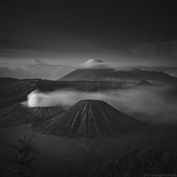 Hengki Koentjoro is an accomplished photographer, specializing in capturing the spectral domain that lies amidst the shades of black and white. Born in Semarang