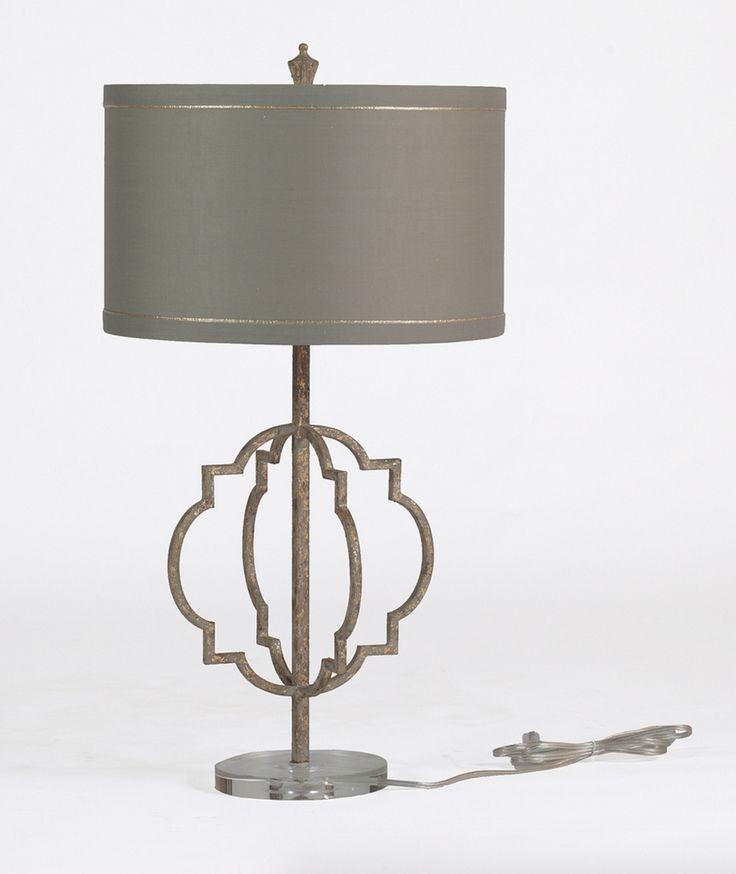 Transitional Iron Lamp