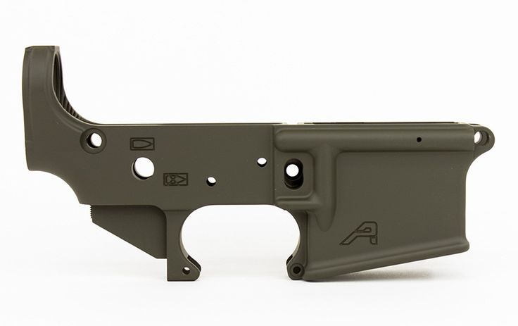 Our AR15 Stripped Lower Receiver is the perfect base for your custom AR15 build. Machined to mil-spec dimensions, our lowers work with standard AR15 components and ensure the highest quality with a correct component interface. Includes:  Stripped AR15 Lower Receiver in OD Cerakote H-232Q  (info on Cerakote Firearm Coating)
