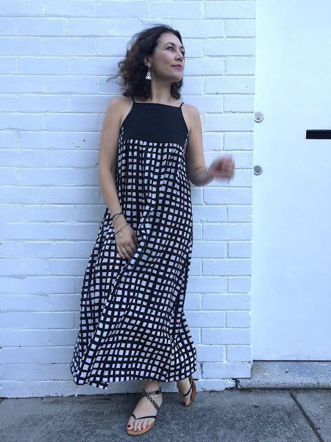 Sew Tessuti Blog - Sewing Tips & Tutorials - New Fabrics, Pattern Reviews: Modified Annie Dress Tutorial