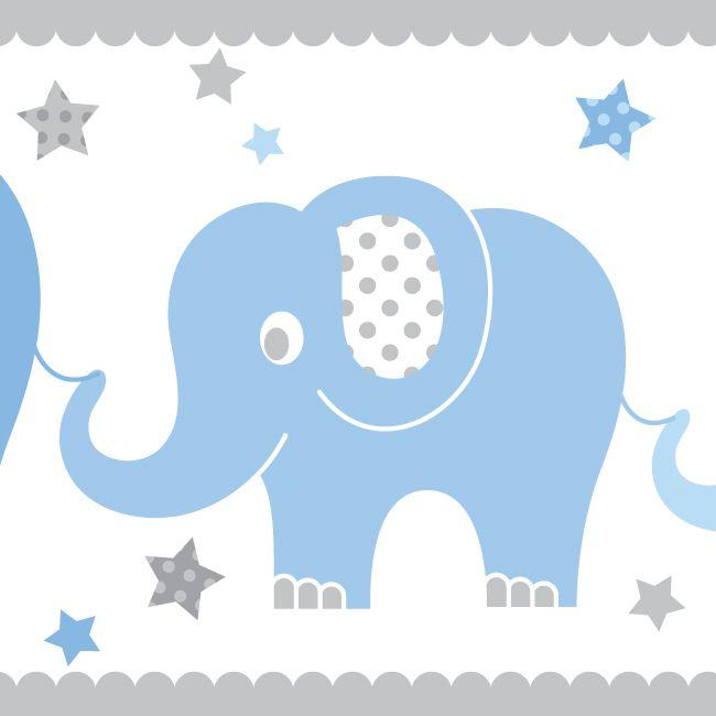 10 best elefanten in blau grau images on pinterest blue grey elephants and babies. Black Bedroom Furniture Sets. Home Design Ideas