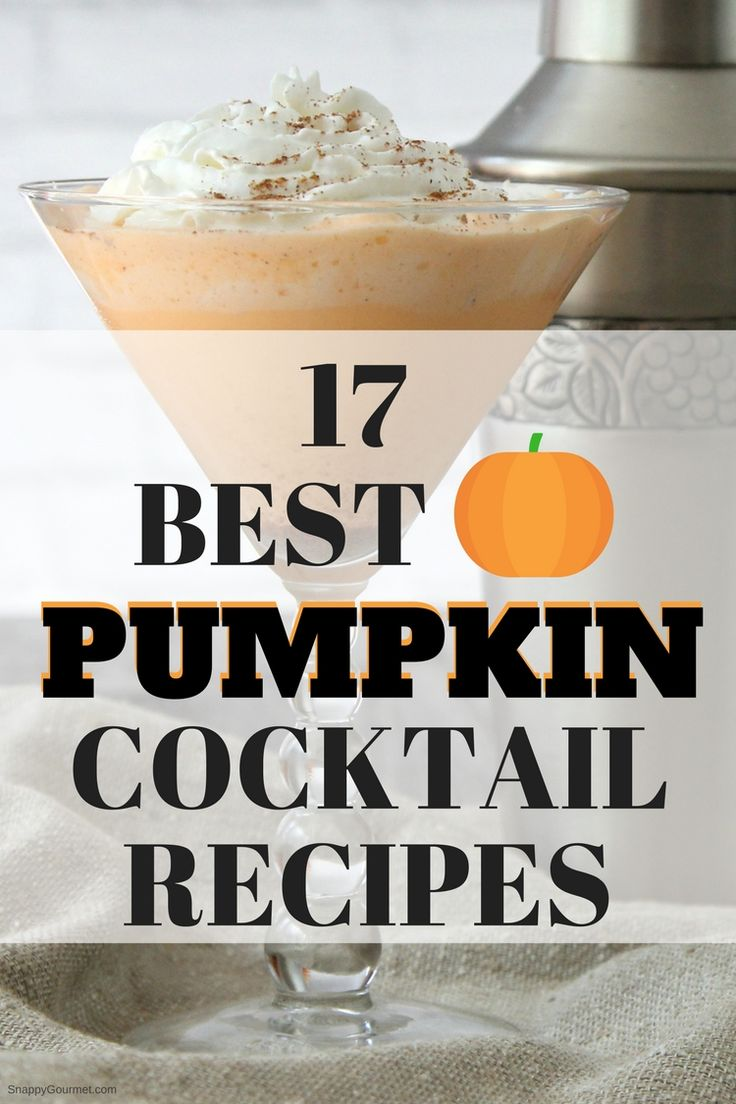 Pumpkin Cocktails – 17 of the Best Pumpkin Cocktail Recipes
