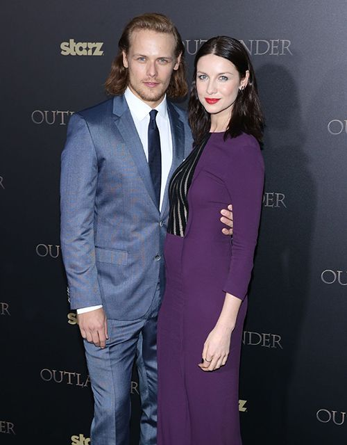 Are outlander stars dating