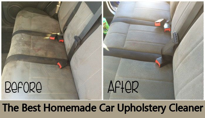 Best Homemade Car Upholstery Cleaner