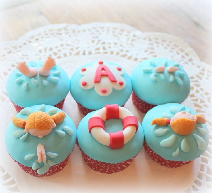 1000+ Images About Swimming Cupcakes On Pinterest