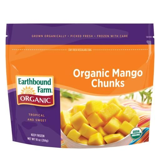 Organic Frozen Mango / Does not have to be this brand but ...