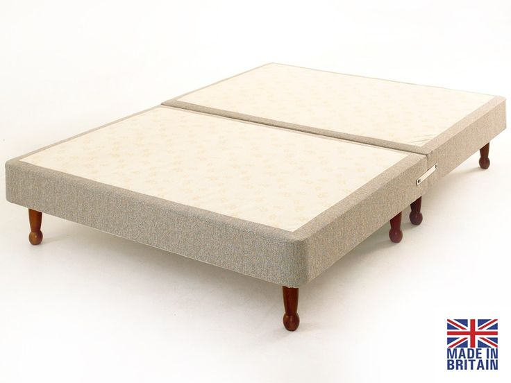 £120 Divan Bed Base on Legs from cheap beds direct