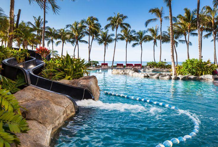 Sheraton Waikiki Hotel - swimming pool