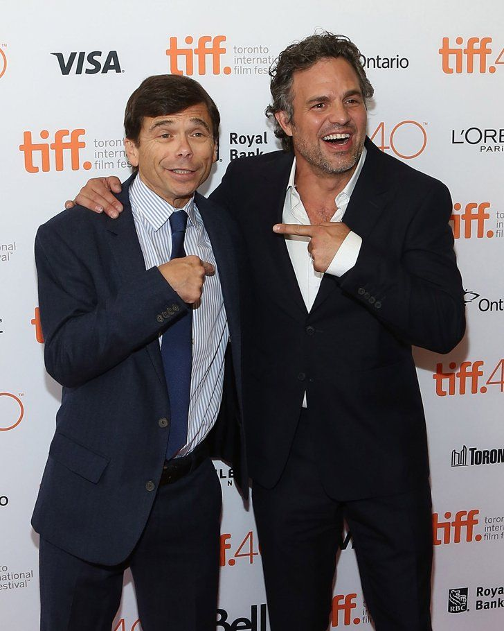 Pin for Later: The Casting For Spotlight's Real Journalists Is Surprisingly Uncanny Michael Rezendes Played by Mark Ruffalo
