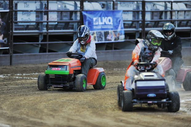 Photos: Lawnmowers Racers bring unique twist to Utah County Fair