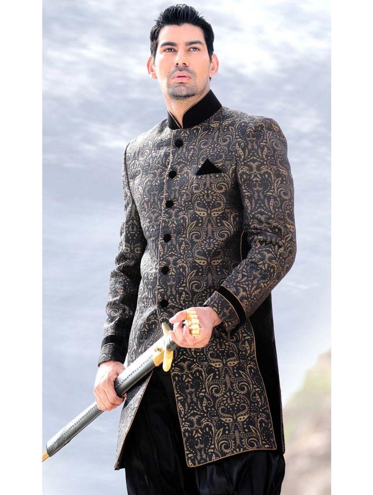 17 best images about 21st on pinterest blue colors ux for Indo western wedding dress for men