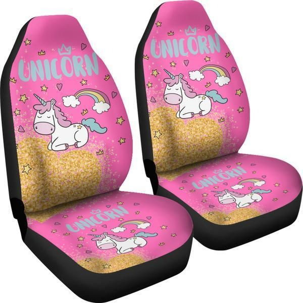 Does Your Car Need A Little Unicorn Bling Check Out Our UNICORN SPARKLE Seat Covers